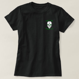 Camiseta Parte superior irlandesa O do crânio o Mornin a Ya