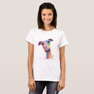 """Camiseta Parte superior Nosey do t-shirt de """"HANK"""" do galgo"""