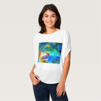 Camiseta Parte superior nova III de Flowy do mundo