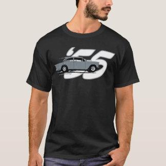 Camiseta Parte superior preta '55 Chevy de 2 pistas