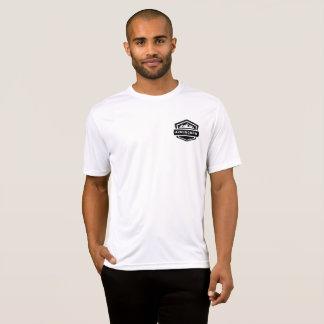 Camiseta parte superior Running básica dos homens 42RunCrew