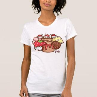 Camiseta Parte superior saboroso do pijama