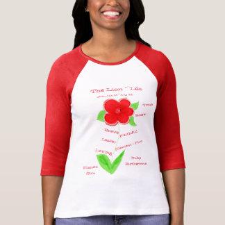 Camiseta Parte superior vermelha Wearable do horóscopo do