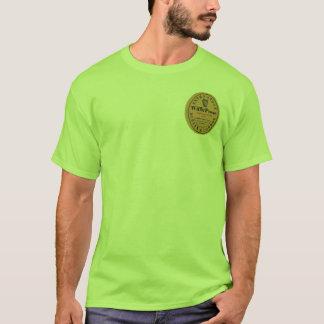 Camiseta Parte traseira dianteira robusta extra da pedra de