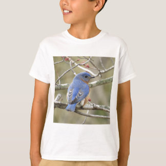 Camiseta Parte traseira do Bluebird