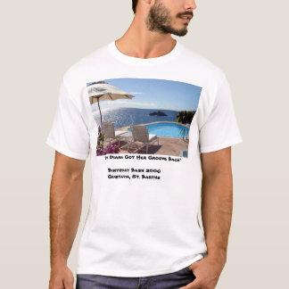 Camiseta Parte traseira do sulco