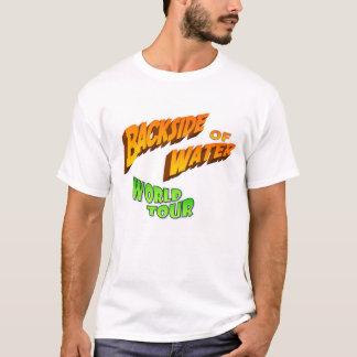 Camiseta Parte traseira do t-shirt da água (nenhuma data)