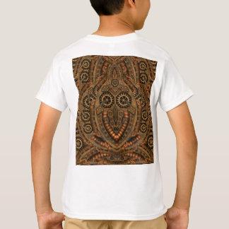 Camiseta Parte traseira do t-shirt de Steampunk