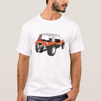 Camiseta Parte traseira Manx do carrinho