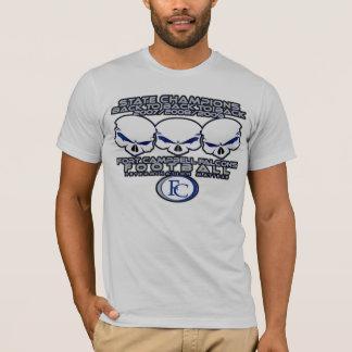 Camiseta Parte traseira Skullz da parte traseira 2 da parte