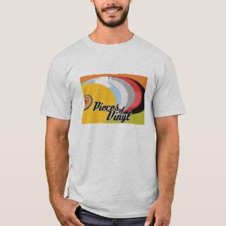 Camiseta Partes de t-shirt do vinil