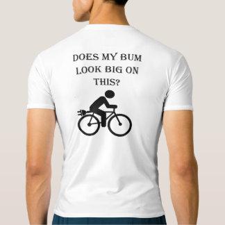 """Camiseta """"Partes superiores ativas de ciclagem do vagabundo"""