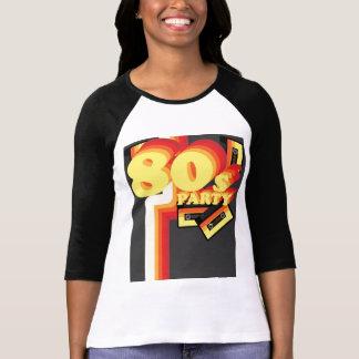 Camiseta partido 80s