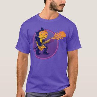 Camiseta Partido da garagem - gato de Ricky