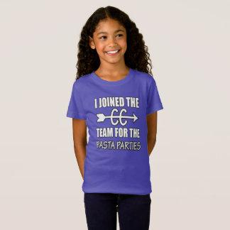 Camiseta Partido da massa do corredor do país transversal