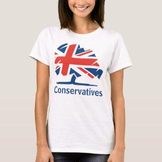 Camiseta Partido do conservador e de sindicalista
