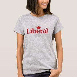 Camiseta Partido liberal do t-shirt do logotipo de Canadá
