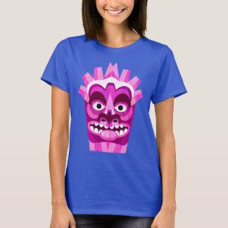 Camiseta Partido tribal engraçado da praia de Tiki