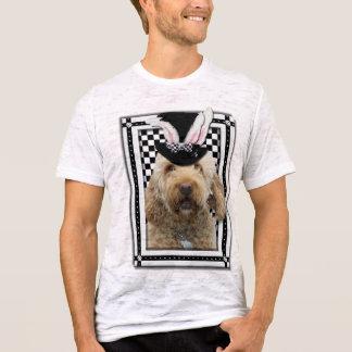 Camiseta Páscoa - algum coelho o ama - GoldenDoodle