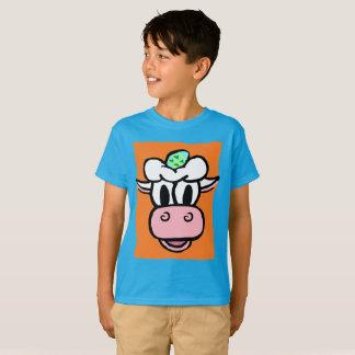Camiseta PÁSCOA DE BOY/GIRL -- Série do FERIADO da vaca do