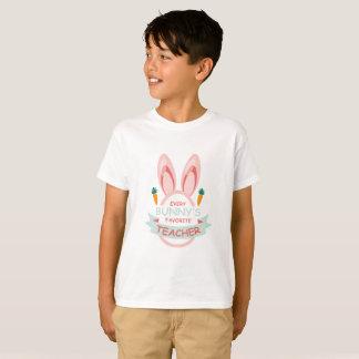 Camiseta Páscoa favorita do professor de cada coelho