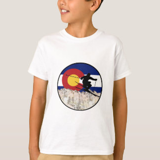 Camiseta Passagem de montanha rochosa