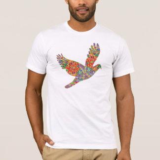 Camiseta Pássaro AFORTUNADO do anjo