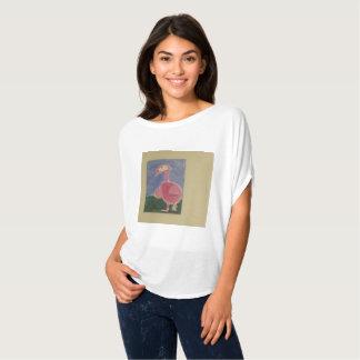Camiseta Pássaro bonito do design da arte