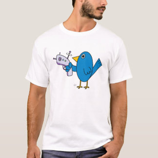 Camiseta Pássaro com Raygun (edição especial) - t-shirt