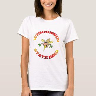 Camiseta Pássaro de estado de Wisconsin