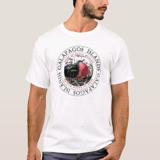 Camiseta Pássaro de fragata das Ilhas Galápagos grande