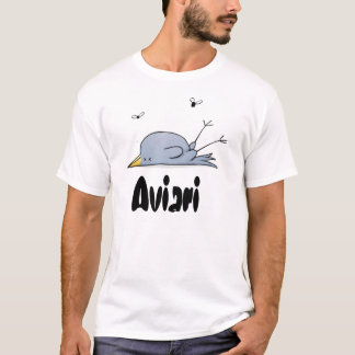 Camiseta Pássaro do morto de Aviari