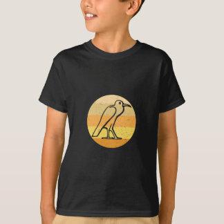 Camiseta Pássaro - egípcio retro
