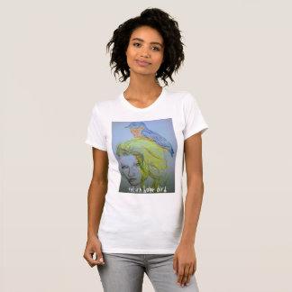 Camiseta pássaro home do retorno