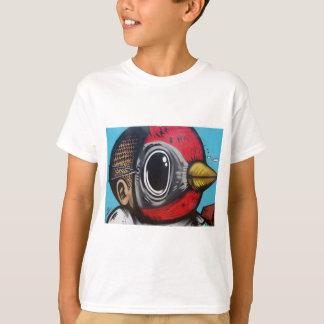 Camiseta Pássaro irritado mega