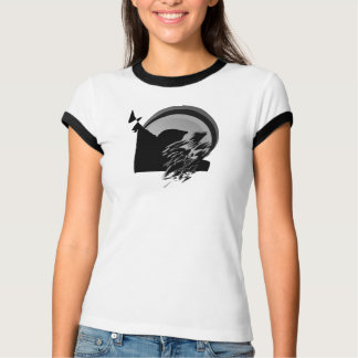Camiseta pássaro musical do sol do tshirt