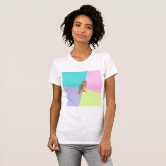 Camiseta Pássaro na cor