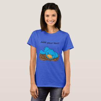Camiseta Pássaro não tão adiantado