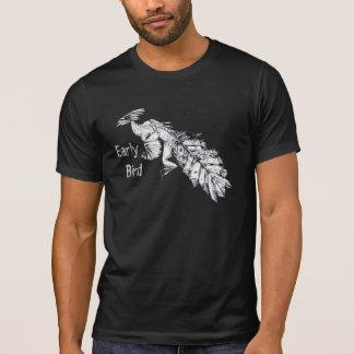 """Camiseta """"Pássaro pré-histórico do pássaro adiantado"""""""