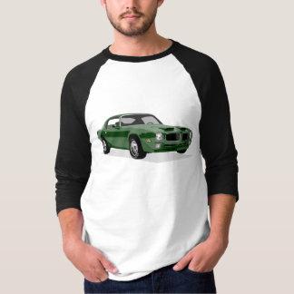 Camiseta Pássaro verde da fórmula
