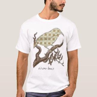 Camiseta pássaro, vírus