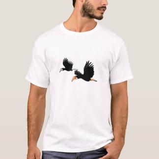 Camiseta Pássaros do Hornbill de Blyth - eles símbolo do