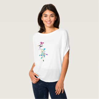 Camiseta Pássaros e árvores