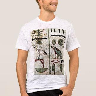 Camiseta Pássaros e Hieroglyphs pelo DES de Maler Der