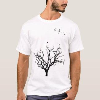 Camiseta Pássaros pretos