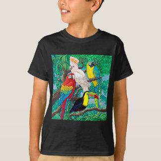 Camiseta Pássaros tropicais