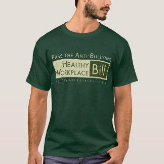 Camiseta Passe o HWB (impressão, o logotipo dianteiros