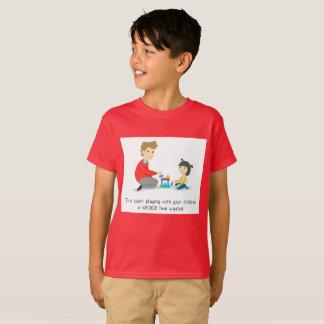 Camiseta Passe o tempo com suas crianças