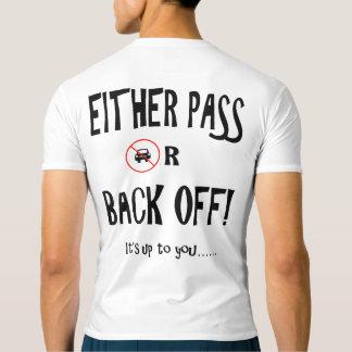 """Camiseta """"Passe ou desembarace"""" de partes superiores ativas"""