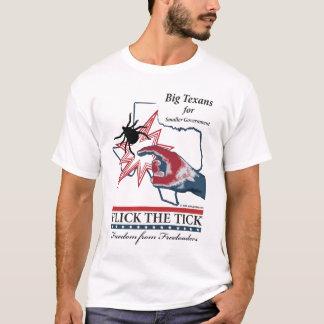 Camiseta Passe rapidamente o tiquetaque - edição de Texas